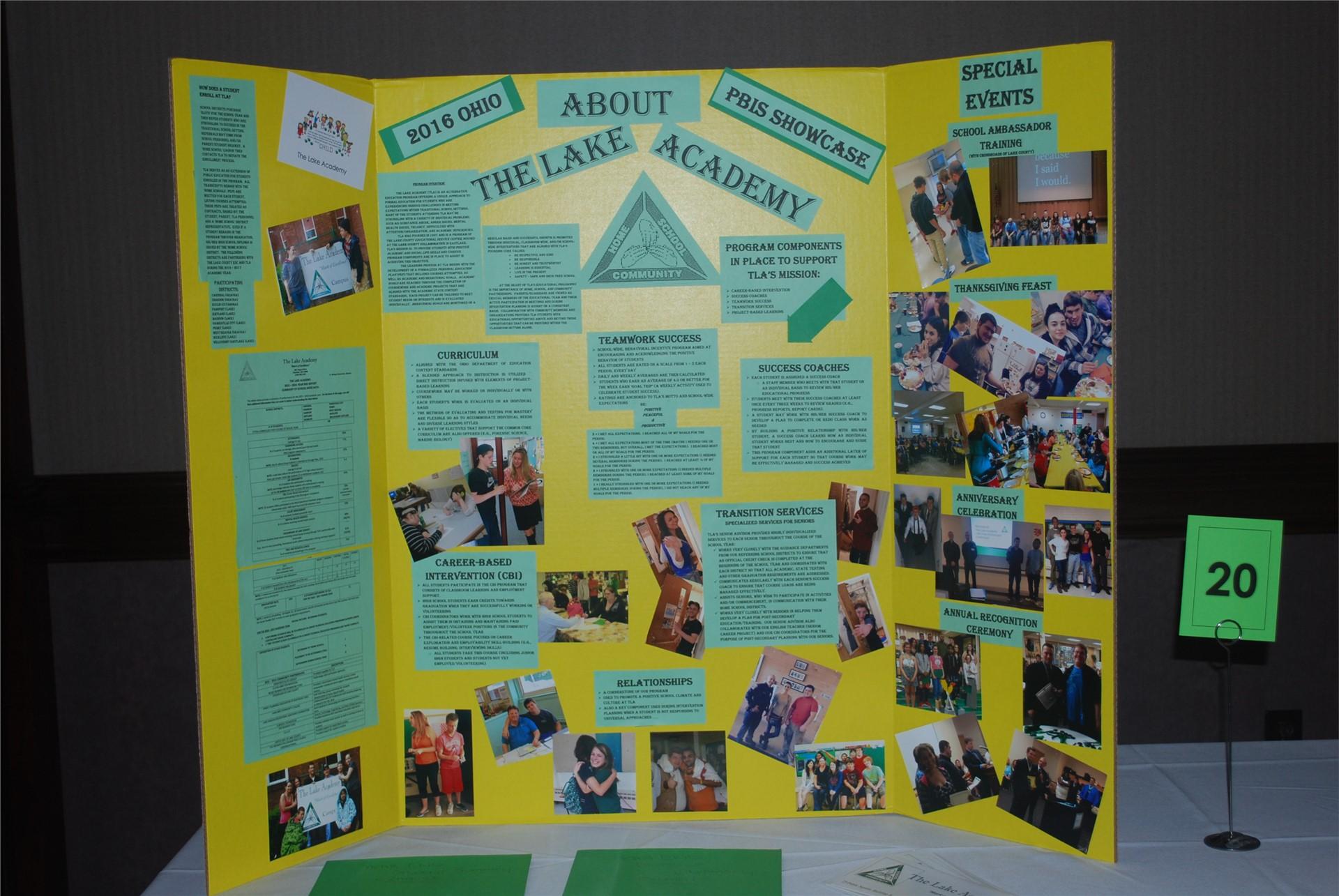 The Lake Academy Showcase at the Ohio PBIS 2016